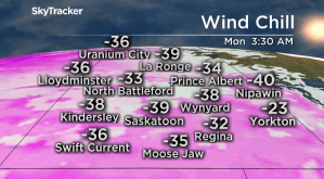 Saskatoon weather outlook: frigid Family Day, some relief ahead